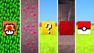Minecraft Please Add These 5 Blocks...