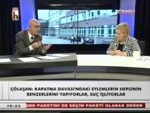 Atatürkçü Düşünce Derneği Genel Başkanı Sn.Tansel Çölaşan / 03.10.2013 / Halk Tv