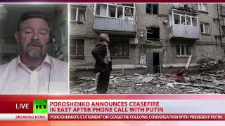 Ceasefire Timing: 'Ukraine Army Pushed Back, Poroshenko Desperate'