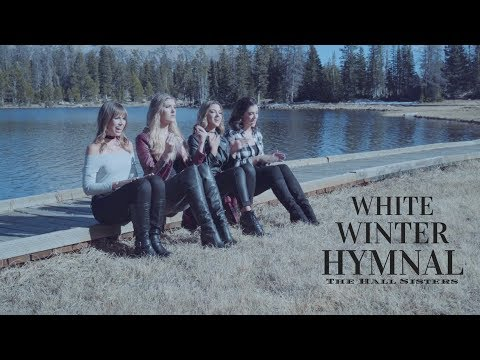 White Winter Hymnal (PTX Cover) - The Hall Sisters [Official Music Video]