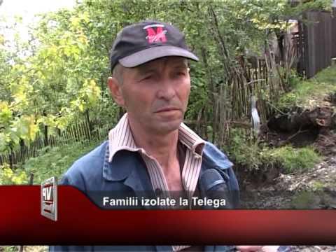 Familii izolate la Telega