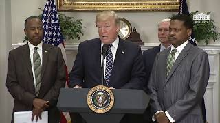 Video President Trump Signs a Proclamation to Honor Dr. Martin Luther King, Jr. Day MP3, 3GP, MP4, WEBM, AVI, FLV Januari 2018