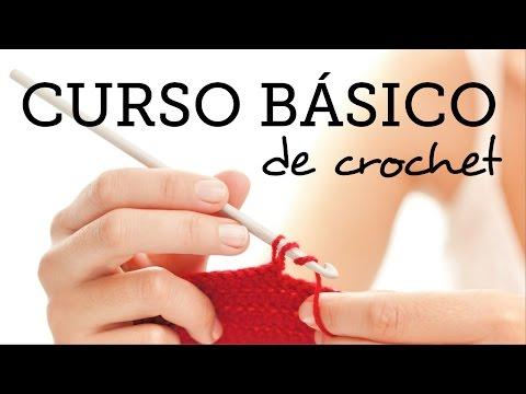 CLASE 1: Nudo Deslizado y Cadenas (SLIPKNOT AND CHAINS) - Curso Básico de Crochet para Principiantes