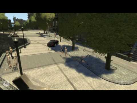 GTA 4 funny accidents and bloopers 8