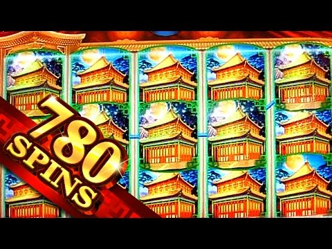 780 Spins on Dynasty Riches BIG WIN - 2c Konami Video Slot