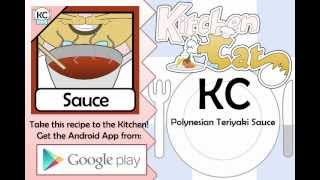KC Polynesian Teriyaki Sauce YouTube video