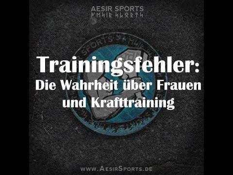 Trainingsfehler: Die Wahrheit über Frauen und Kraftsporttraining
