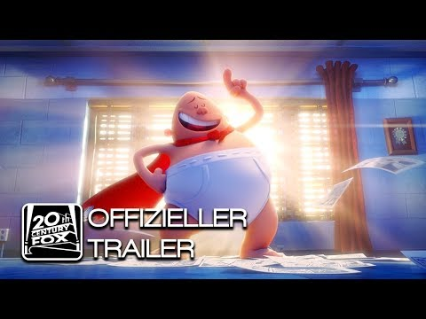 Captain Underpants: Der supertolle erste Film | Offizieller Trailer 1 | Deutsch HD German (2017)