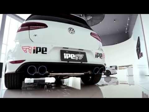 VW ゴルフ7 R 用 iPE 可変バルブマフラー [フルシステム]