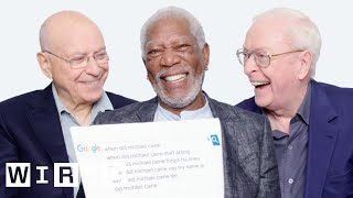 Video Morgan Freeman, Michael Caine, and Alan Arkin Answer the Web's Most Searched Questions | WIRED MP3, 3GP, MP4, WEBM, AVI, FLV Juli 2019