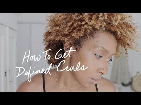 Curly hairstyles - HOW TO STYLE CURLY HAIR TUTORIAL  MY SUPER EASY HAIR ROUTINE