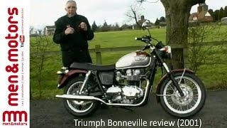 9. Triumph Bonneville review (2001)