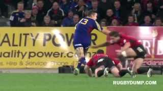 Tamati Ellison incredible pass for Ben Smith try - YouTube