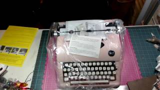 we r memory keepers typecast type writer unboxing