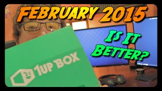 BETTER THAN LAST MONTH?! (February 2015 1Up Box Unboxing)