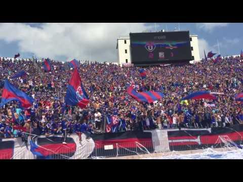 Los de Abajo, después del 2do gol de Mora. Fiesta en el Nacional - Los de Abajo - Universidad de Chile - La U