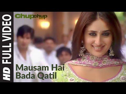 Mausam Hai Bada Qatil Full Song | Chup Chup Ke | Shahid Kapoor, Kareena Kapoor