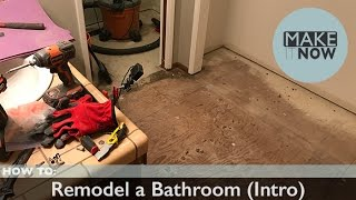 How To: Remodel a Bathroom (Intro)