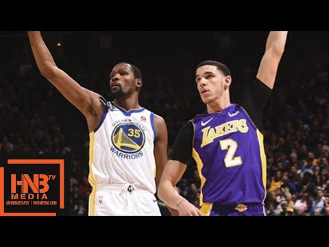 Los Angeles Lakers vs Golden State Warriors Full Game Highlights / March 14 / 2017-18 NBA Season (видео)