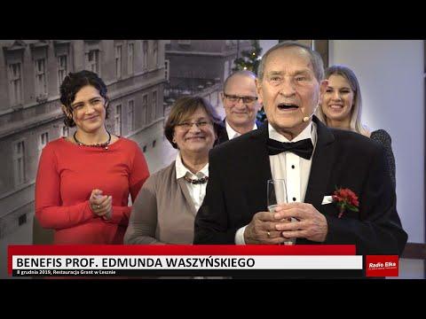 Wideo1: Benefis prof.  Edmunda Waszyńskiego (skrót)