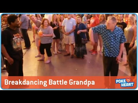 Grandpa's Breakdance Battle!