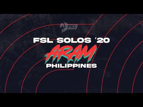 Game 2 - FSL ARAM Solos '20 PH