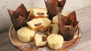 Nutella Stuffed Vanilla Muffins | Episode 1136 by Laura in the Kitchen