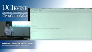 Engineering CEE 20: Engineering Problem Solving. Lecture 26