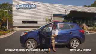Autoline Preowned 2010 Hyundai Tucson GLS Walk Around Review Test Drive Used For Sale Jacksonville