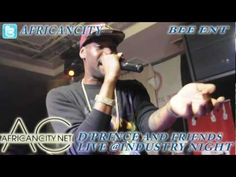 0 Exclusive Video of DPrince, Wande Coal, Tiwa Savage, Dr SID    Industry Nite