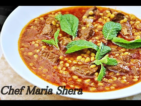Lamb Curry-afghan Lamb Korma - Split Chickpeas -dal Nakhod-korma Gosht -afghan Recipes