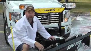 9. Sno-Way 26R snow plow fits on Ford F150