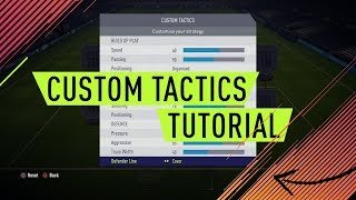 Video BEST CUSTOM TACTICS IN FIFA 18 - WORKS WITH ALL FORMATIONS (ALL VALUES EXPLAINED) MP3, 3GP, MP4, WEBM, AVI, FLV Agustus 2018