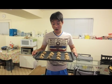 Vlog #3 : My first baked cookies! – Vancouver (3/31/13 – 4/1/13)