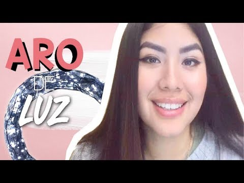 Videos caseros - Como hacer un Aro de Luz LED para tus videos  Casero  DYI  para maquillaje