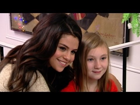 Selena Gomez 'Make a Wish' FoundationGirl Who Battled Brain Tumor | Good Morning America | ABC News
