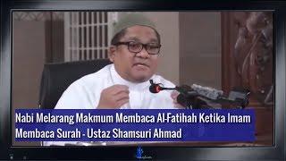 Hadis Yg Melarang Membaca Al Fatihah Ketika Imam Membaca Surah
