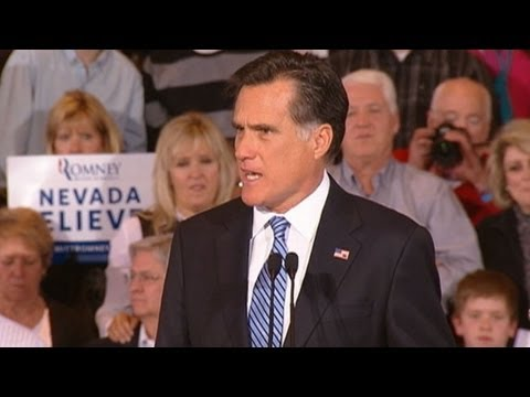 nevada caucus - Mitt Romney focuses on economic policies after his Nevada caucus victory. For more information, click here: http://abcnews.go.com/Politics/OTUS/republicans-m...
