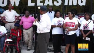 Sylvester Turner Rally Acres Homes 2015