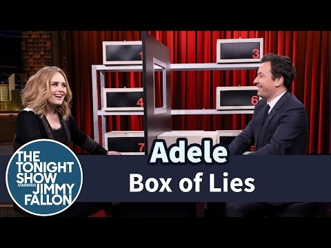 Box of Lies with Adele (видео)