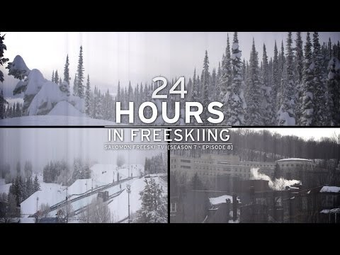 24 Hours in Freeskiing - Salomon Freeski TV S7 E08