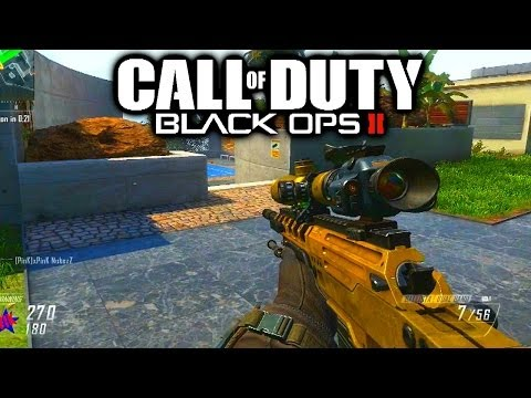sharpshooter - Black Ops 2 Sharpshooter Gameplay. Hit like for more BO2! Like my Facebook Page: http://www.facebook.com/Vikkstar123 Follow me on TWITTER: http://twitter.com...