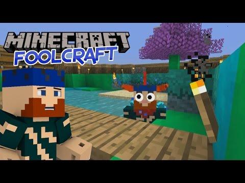 Minecraft   Fool Craft   #4 IT TAKES A VILLAGE