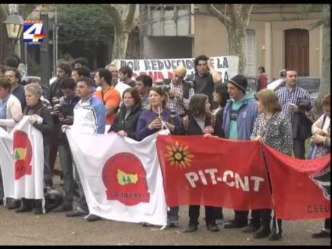 Paro en Paysandú: Gremio de secundaria realizará movilizaciones hasta el 14 de agosto