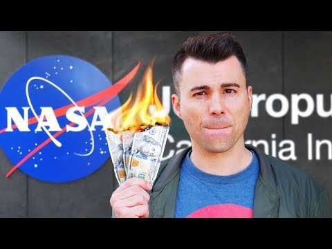 Is NASA a waste of money?