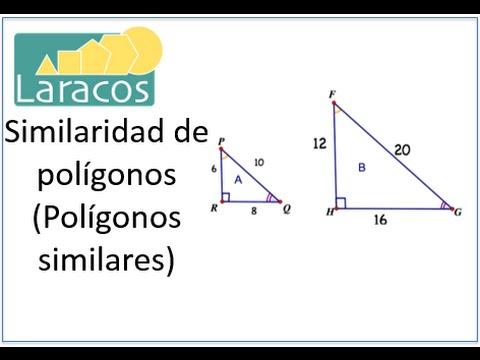 Ählichkeiten der Poligone (Polígonos similares)