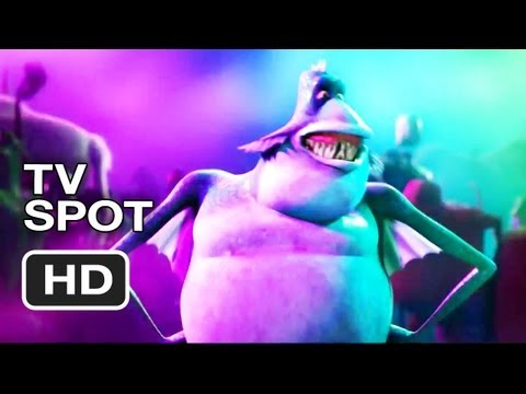 Hotel Transylvania TV Spot - Your Favorite Monsters Go On Vacation (2012) - Animated Movie HD Video