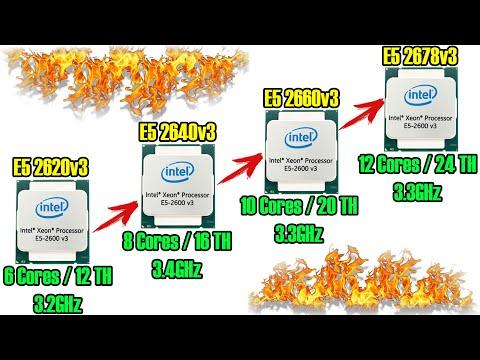 Выбираем оптимальный процессор на LGA2011-3. Xeon E5 2620v3 / E5 2640v3 / E5 2660v3 / E5 2678v3