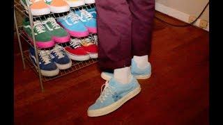 Golf Le Fleur Converse Bachelor Blue  (Unboxing + On-foot)