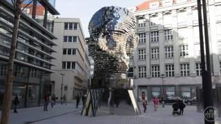 Rotating 42-Layer Kafka Sculpture by David Cerny